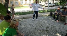 Севастопольский депутат Михаил Брицын обсудил с избирателями проблемы поселка Кача