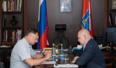 Марат Хуснуллин и Михаил Развожаев обсудили социально-экономическое развитие Севастополя
