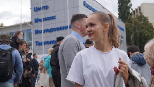 Студенты СевГУ отметили спуск на воду «Пионера-М» ярким праздником
