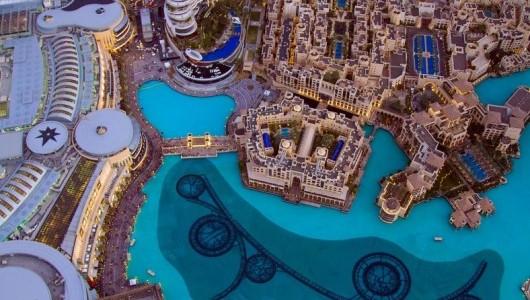 Арабские Эмираты с высоты человеческого полёта