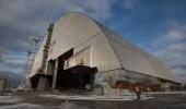 Видео процесса надвижки новой арки чернобыльского саркофага