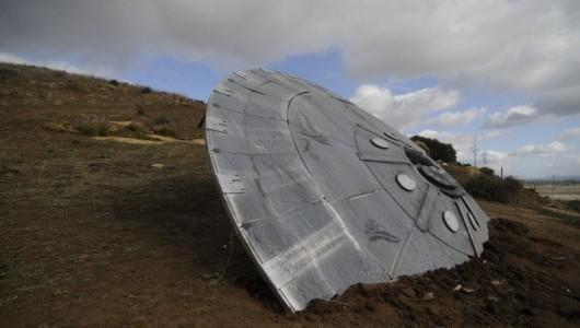 Крушение НЛО в России: инопланетяне бросились спасать своих