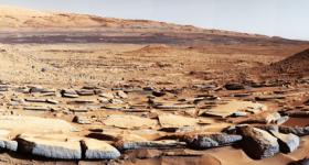 Уникальная панорама с поверхности Марса (ВИДЕО)