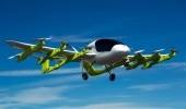 Суперсовременное летающее беспилотное такси на видео