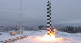 Минобороны рассекретило видео испытаний ракеты «САРМАТ» (ВИДЕО)