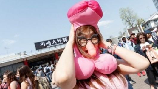 Как в Японии отметили фестиваль пениса (ФОТО)