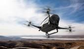 Зрелищное испытание целой эскадры дронов (ВИДЕО)