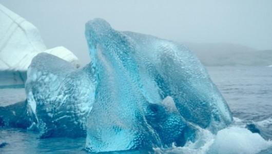 Уникальные кадры рождения айсберга (ВИДЕО)