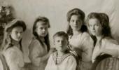 Дети царя Николая II